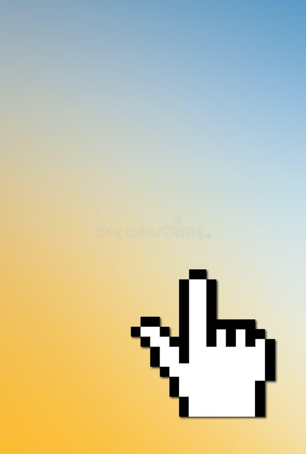 Curseur d'ordinateur illustration libre de droits