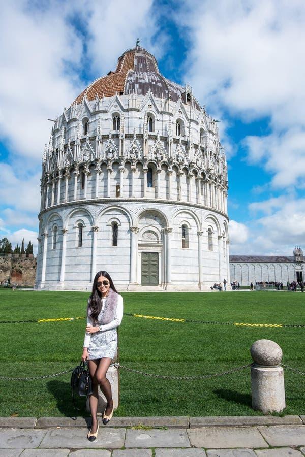 Curso a catedral de Europa - Pisa, Pisa, Itália fotografia de stock royalty free