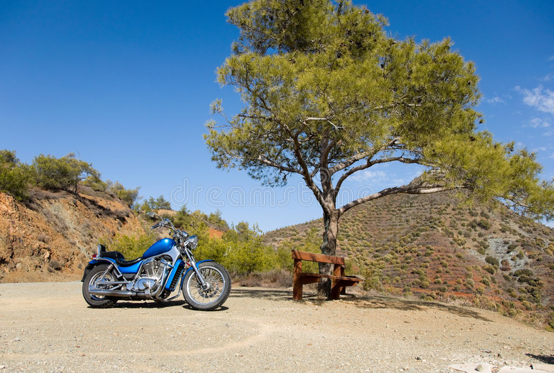 Curso da bicicleta foto de stock