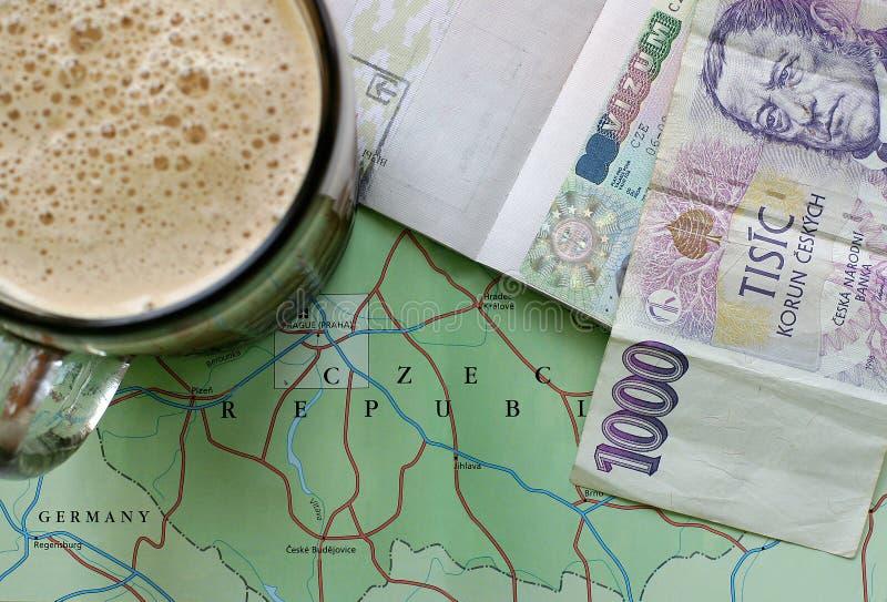 Curso da república checa imagem de stock