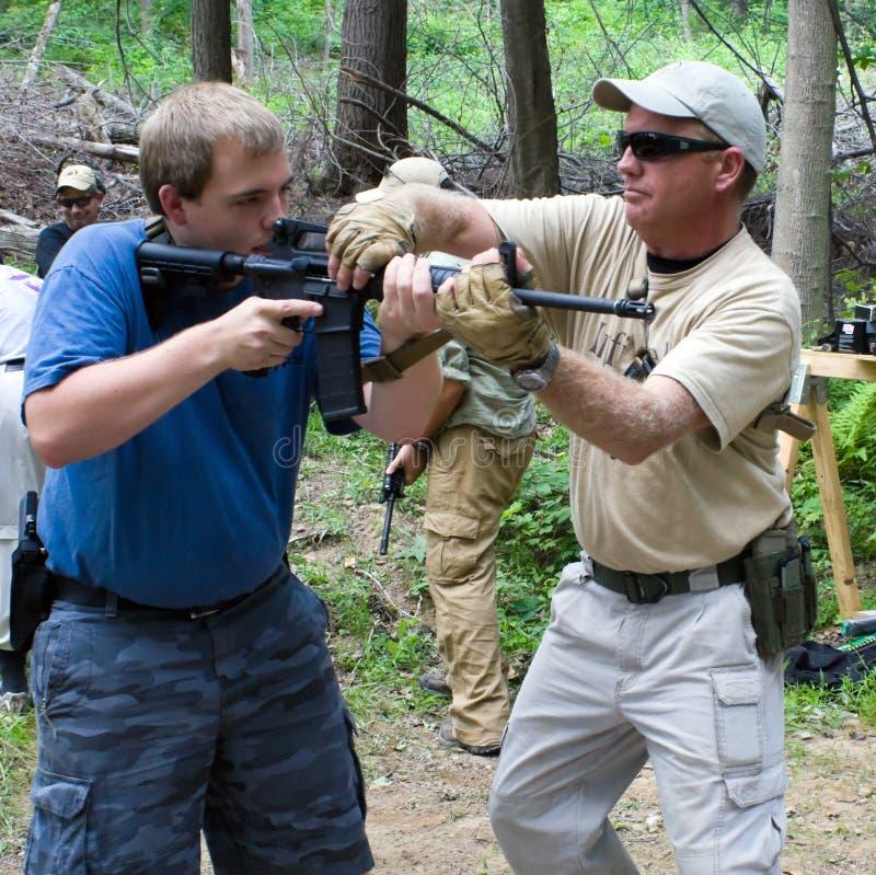 Curso de aprendizaje de armas de fuego imagen de archivo