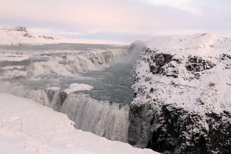 Curso de Islândia fotografia de stock royalty free