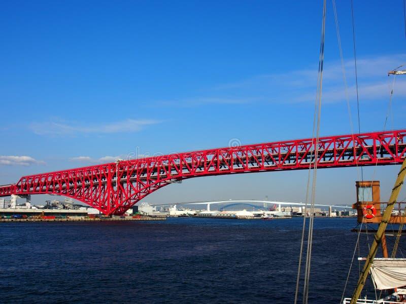 Curso de Japão da opinião do cruzeiro da baía imagem de stock