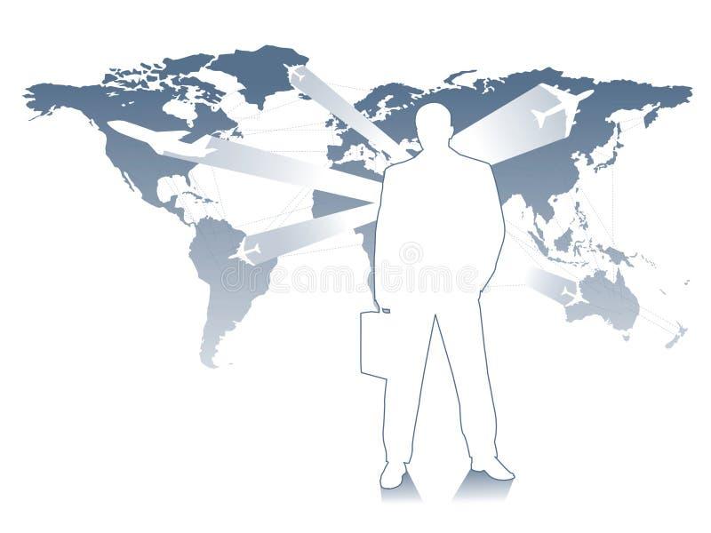 Curso de negócio ilustração do vetor
