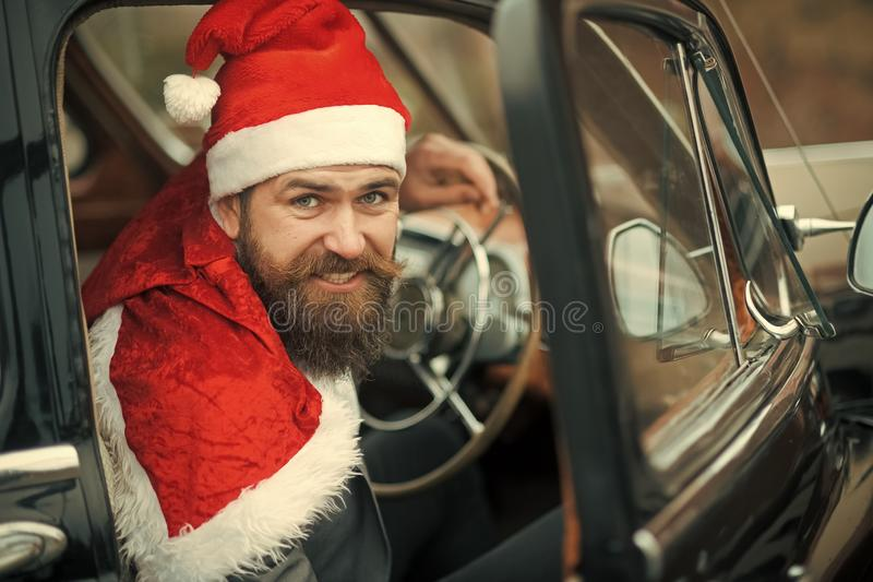 Curso do Natal, aventura, conceito da viagem fotos de stock