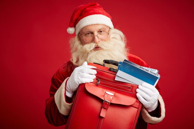 Curso do Natal feliz foto de stock royalty free
