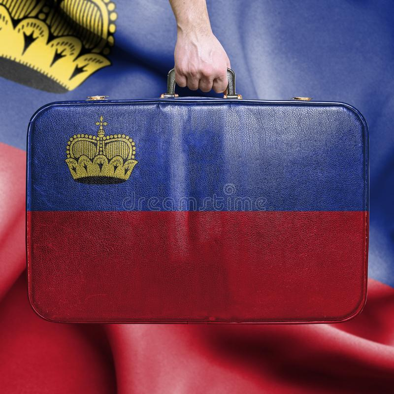 Curso a Lichtenstein imagens de stock royalty free