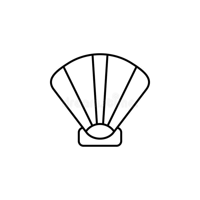 Curso, mala de viagem, verificação, ícone do esboço da fita Elemento da ilustração do curso Os sinais e o ícone dos símbolos pode ilustração stock