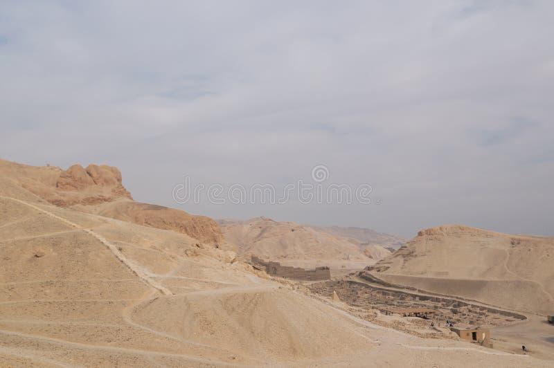 Curso no al-Madina de Egipto - de Deir imagens de stock