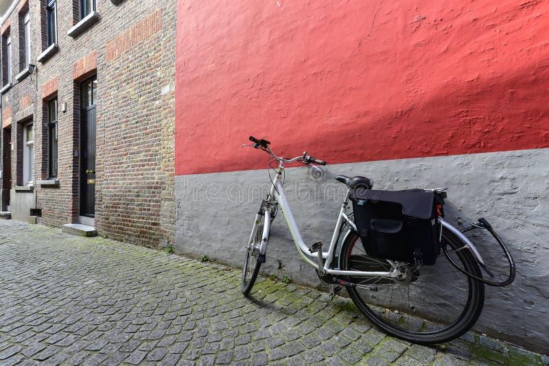 Curso pela bicicleta foto de stock