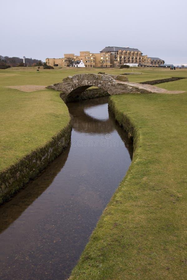 Curso velho do St Andrews imagens de stock royalty free