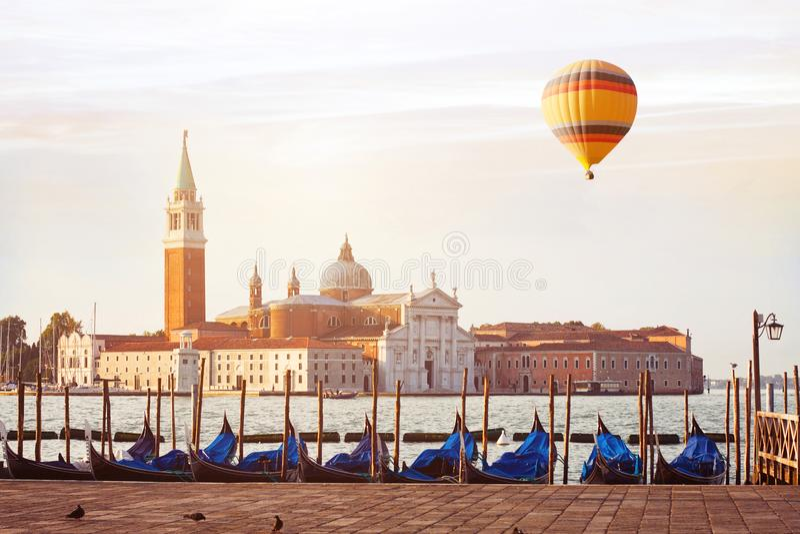 Curso a Veneza, Itália fotografia de stock royalty free