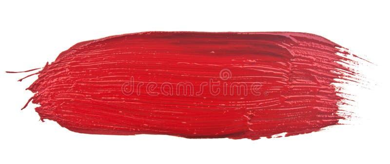 Curso vermelho imagem de stock