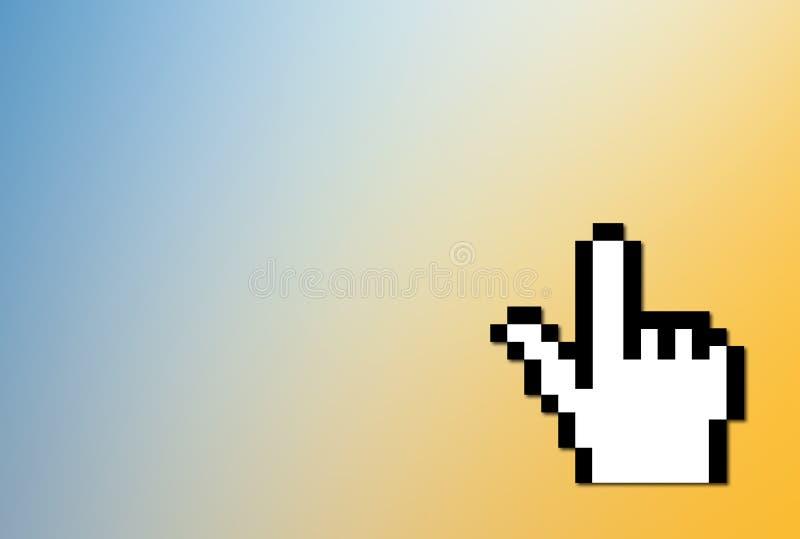 Download Cursor del ordenador stock de ilustración. Ilustración de pixel - 179008