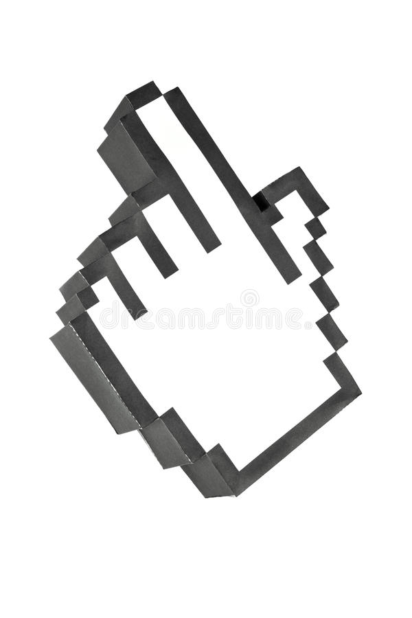 Download Cursor Hand stock image. Image of finger, click, symbol - 29206495