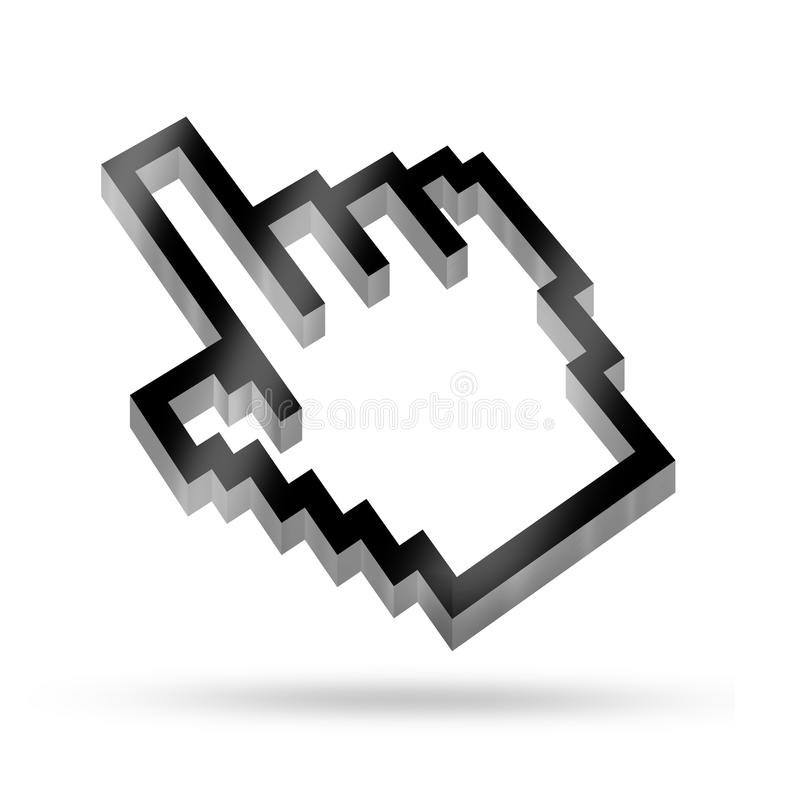 Cursor Icons Stock Photo