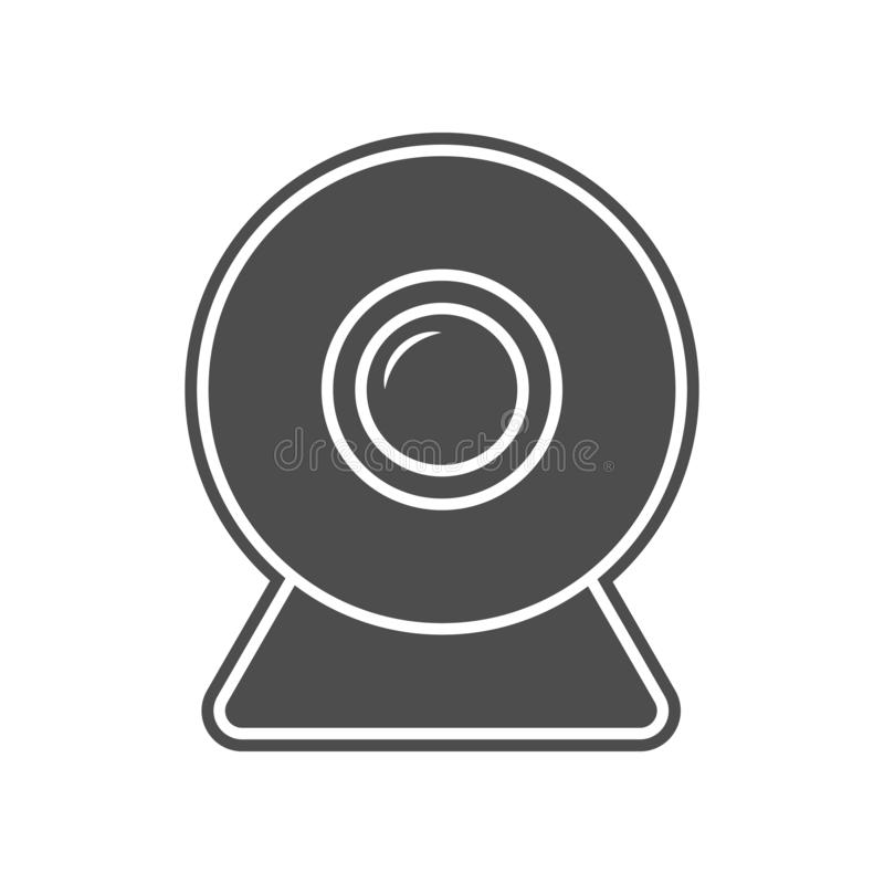 Cursor-Ikone Element von minimalistic f?r bewegliches Konzept und Netz Appsikone Glyph, flache Ikone f?r Websiteentwurf und Entwi lizenzfreie abbildung