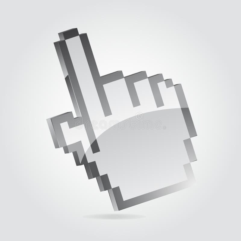 Cursore della mano