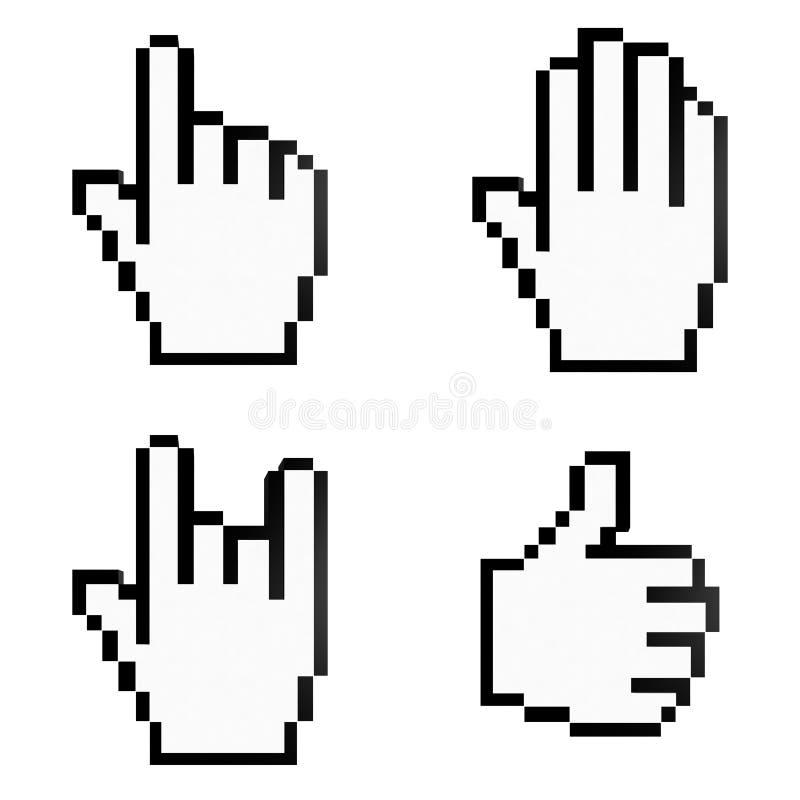 Cursors vector illustration