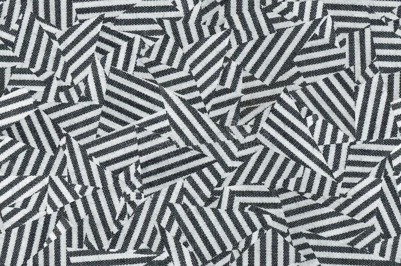 Cursos diagonais sem emenda do vintage em preto e branco imagens de stock