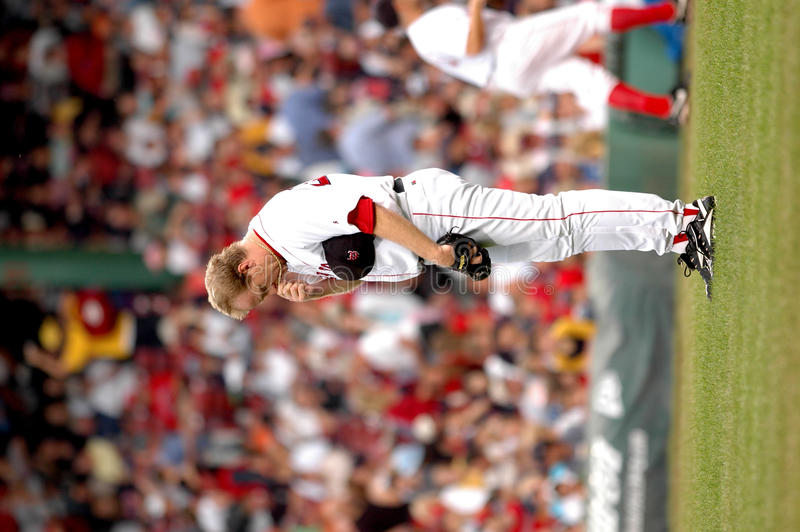 Download Curt Schilling Pregame Ritual Editorial Stock Image - Image: 23649164