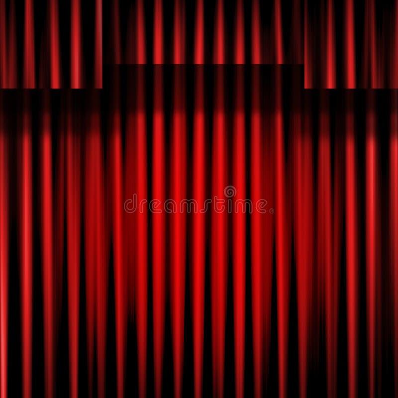 Download Curtain stock illustration. Image of cinema, entrance - 17924550