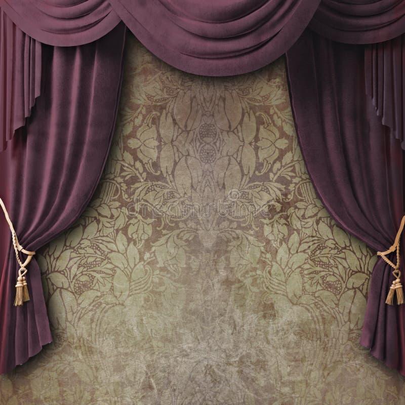 Download Curtain stock illustration. Illustration of drapes, curtain - 20623866
