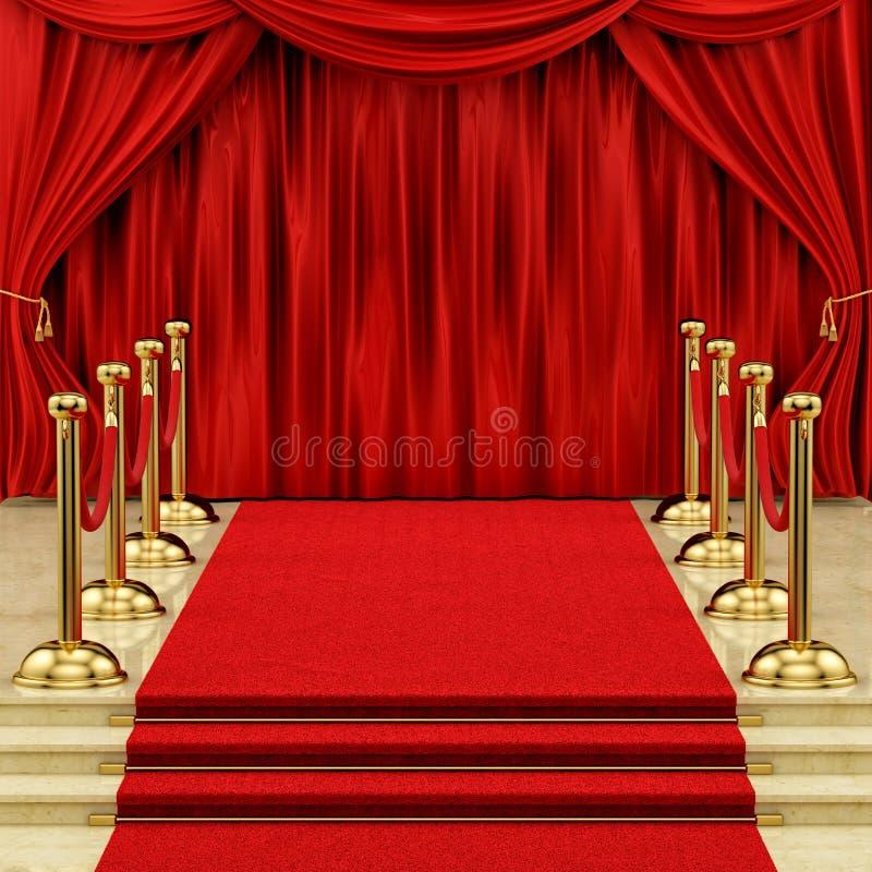 Curtain stock photography