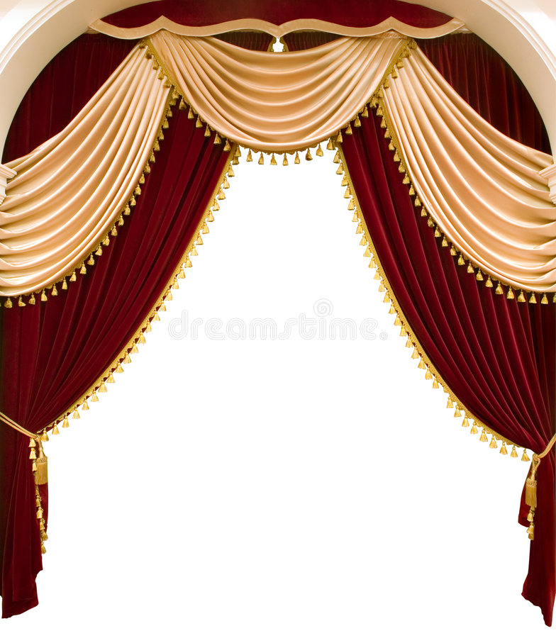Curtain royalty free stock photography