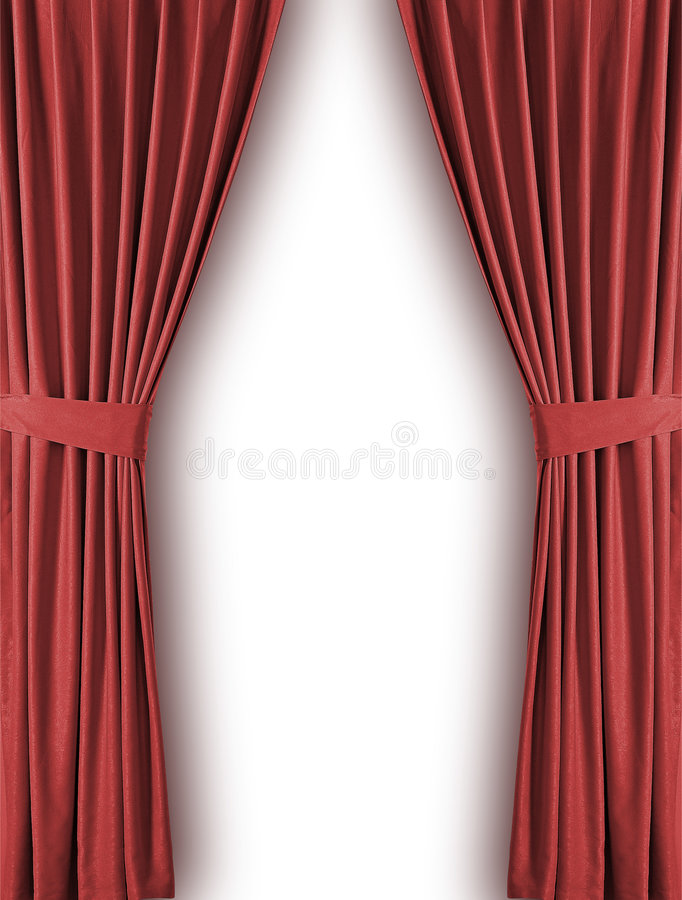 Download Curtain stock illustration. Image of fame, performance - 8562563