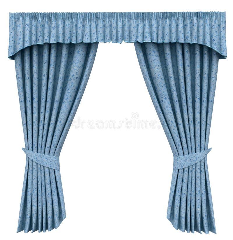 Curtain stock illustration