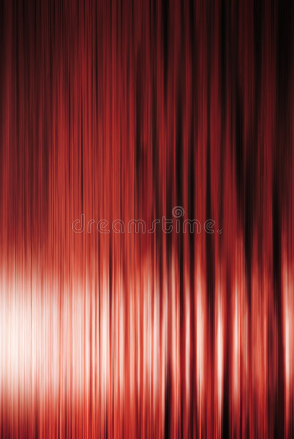 Curtain Background. Dramatically lit red curtain background stock image
