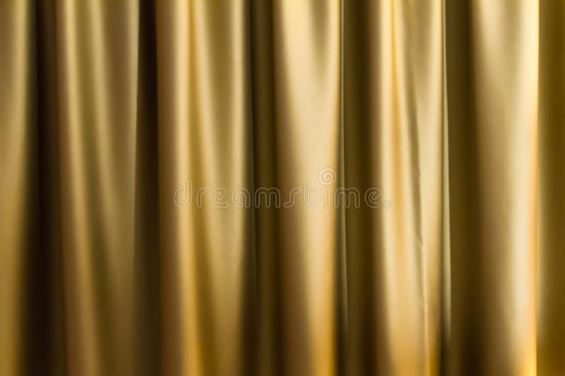 Curtain Background. Golden color curtain background royalty free stock images