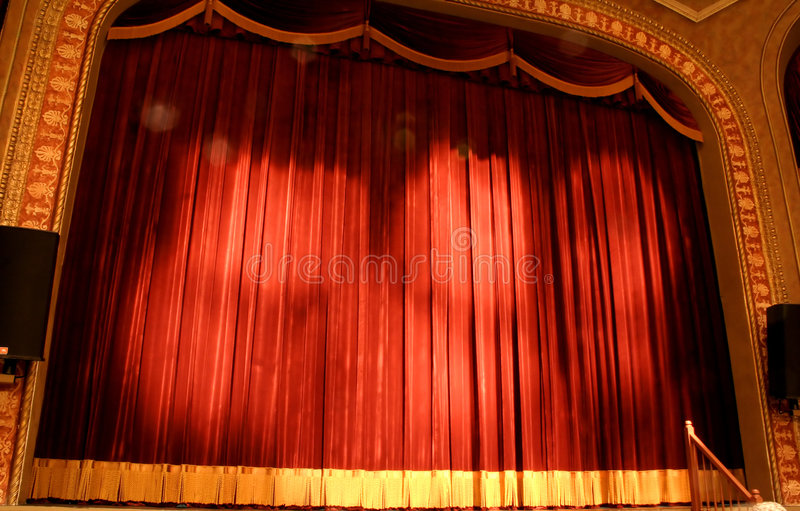 Curtain Call stock image