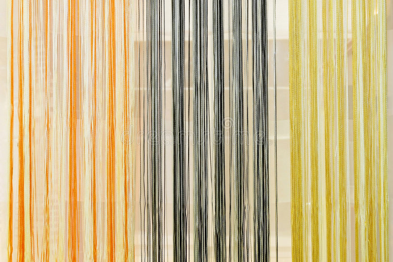 Curtain lines royalty free stock photos