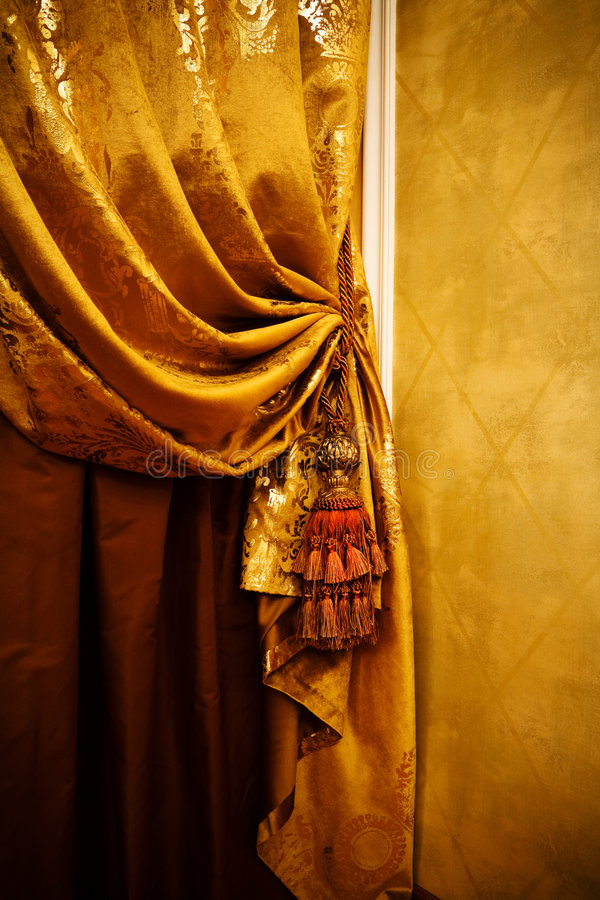 Download Curtain with an ornament stock image. Image of flat, still - 8443795