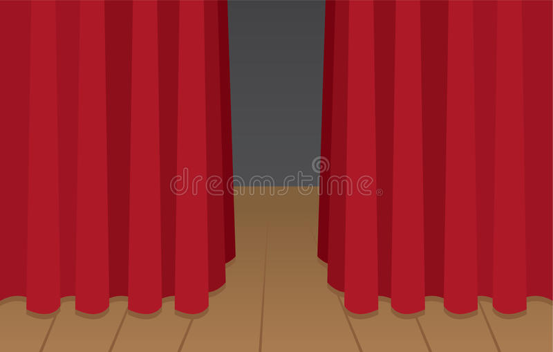 Download Curtain Stage stock vector. Image of play, frame, proclaim - 29112421