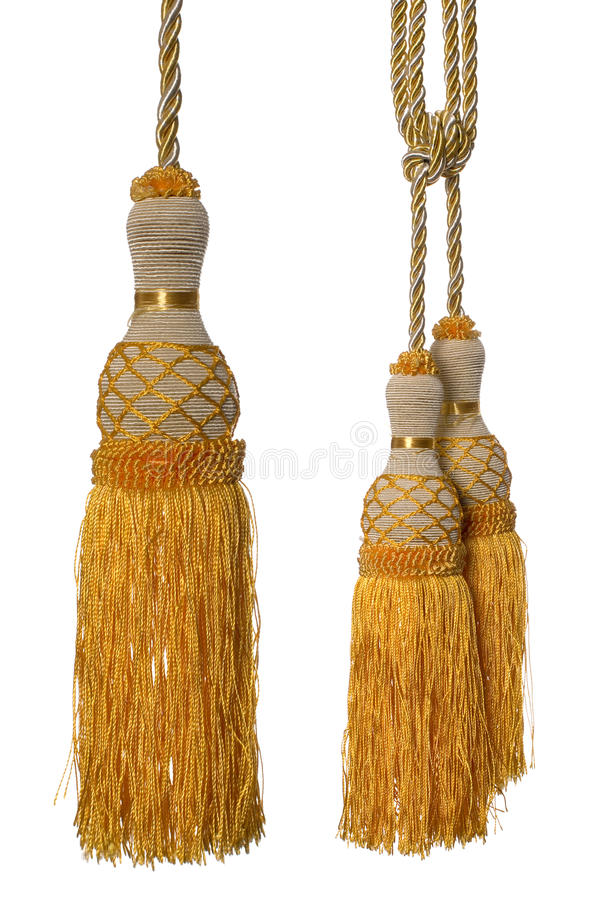 Download Curtain Tassel stock photo. Image of made, isolate, drapery - 13148712