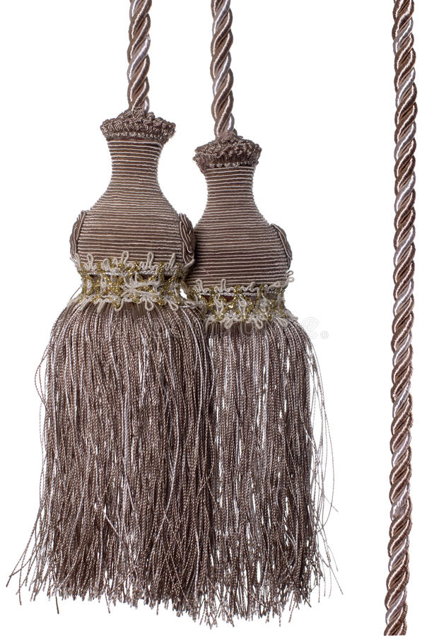 Download Curtain Tassel stock image. Image of bronze, material - 13148755