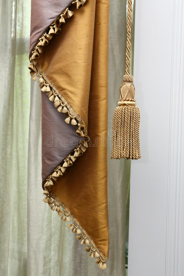 Download Curtain And Tassel Stock Photography - Image: 27955212