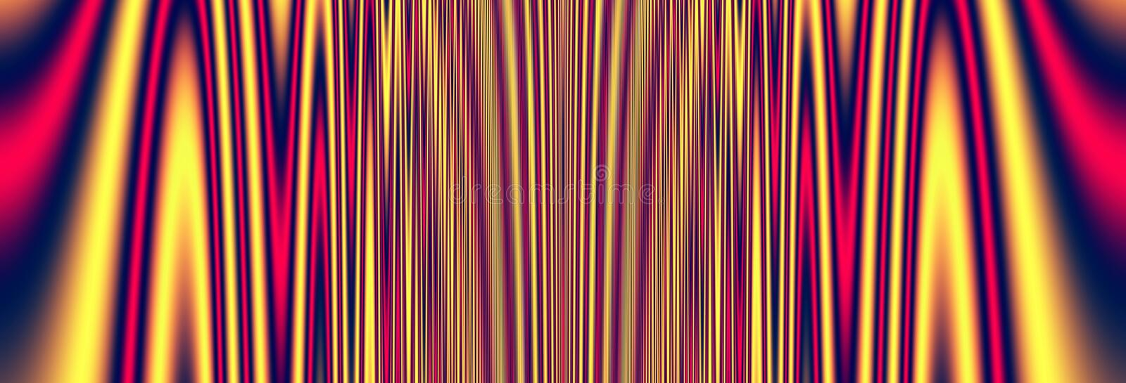 Texture colorful summer fun background. Curtain texture colorful summer fun background vector illustration