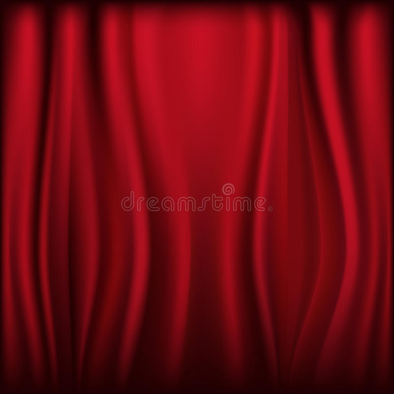 Free Curtain. Vector Stock Images - 17460904