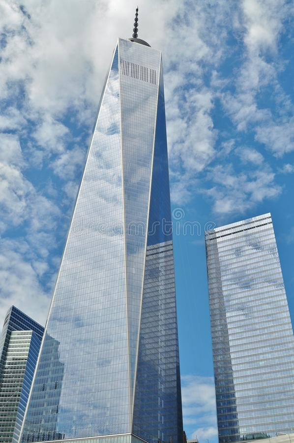 Curtain Wall Buildings Under Blue Cloudy Sky royalty free stock images