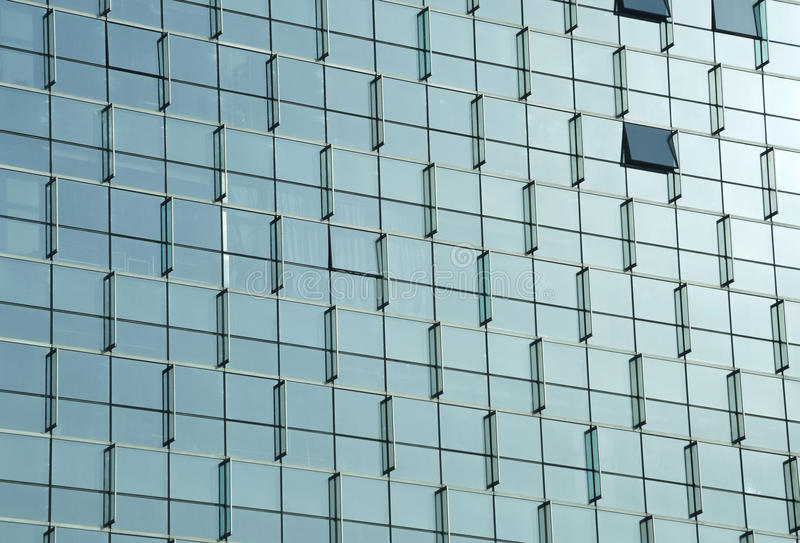 Curtain Wall of mordern building royalty free stock photos