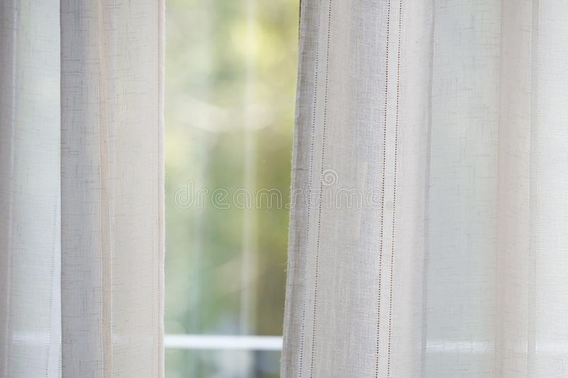 Curtain window background. Texture detail stock images