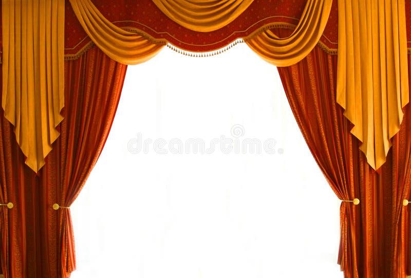 Curtains stock photos