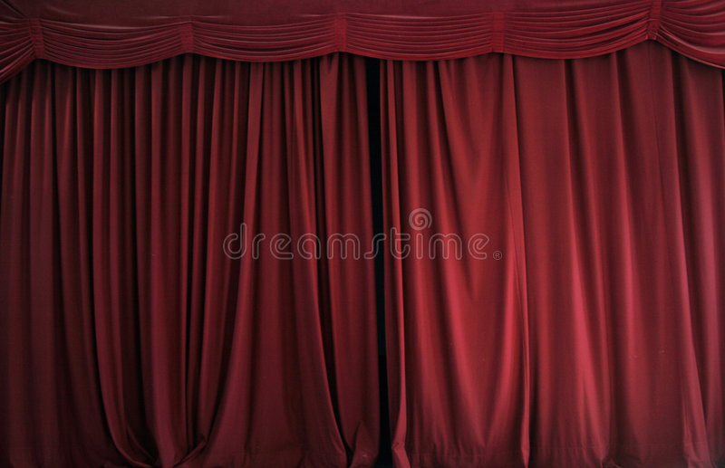 Download Curtains stock photo. Image of stage, drapes, theatrical - 1231826