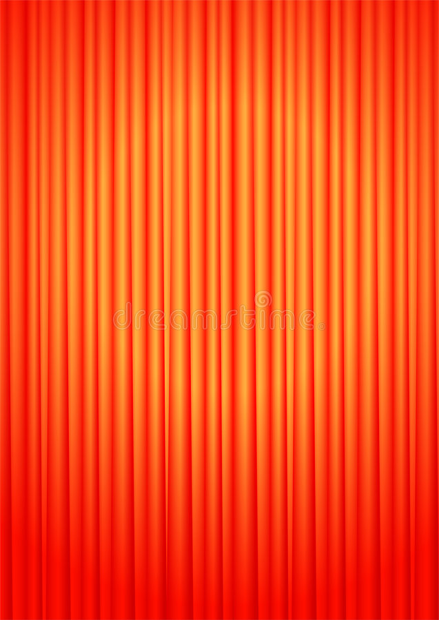 Curtains Royalty Free Stock Photo