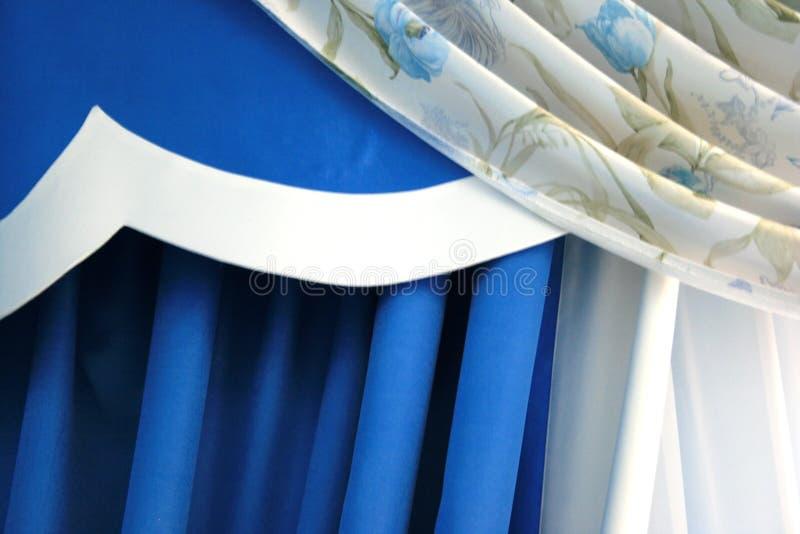 Download Curtains stock image. Image of designer, backdrop, decor - 3192129