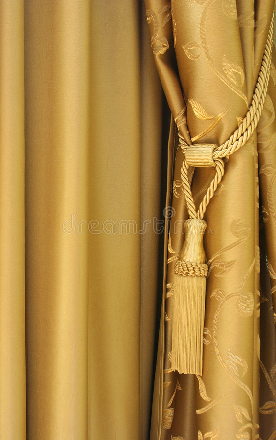 Download Curtains stock photo. Image of cute, ornate, braided, interior - 5355780
